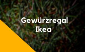 Ikea Gewürzregal