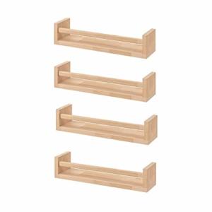 Das BEKVÄM Holz Gewürzregal
