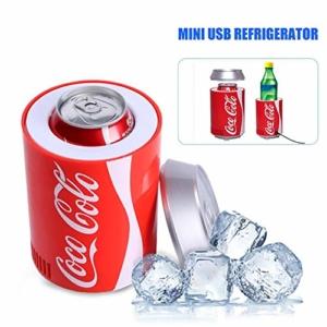 Rosemaryrose USB Kühlschrank Getränkekühler Coca Cola